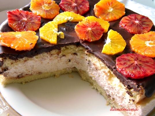 Tort cu portocale rosii4